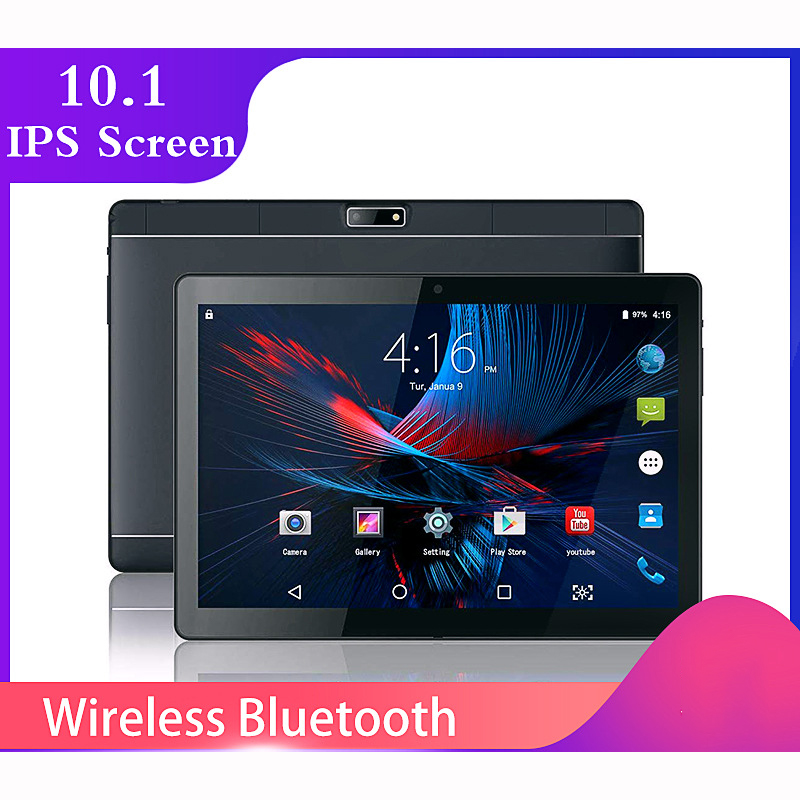 2020 New 10.1 Inch Tablet PC F11 Android 9.0 WiFi Dual SIM Cards 4G LTE Phone Call Tablets 10.1 16GB FM GPS Clear Cameras
