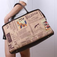 Women Capacity Travel Bag Handbag Shoulder Capacity Bags Tote Purse Leather Women Overnight Carry on Luggage Bags