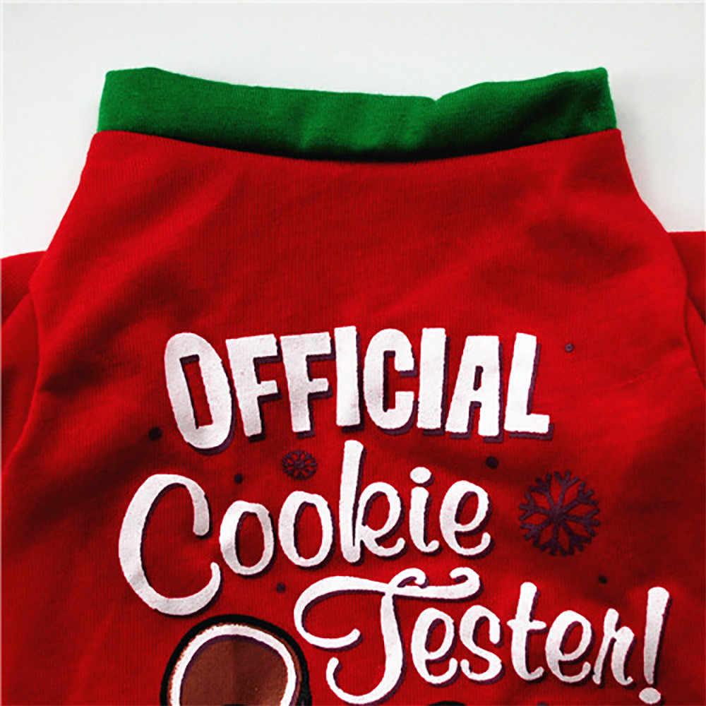 חיות מחמד בגדי חג המולד מכירה לוהטת קומפי החורף חם כלב בגדי כותנה חולצה כלבלב תלבושות תלבושות הלבשה חיות מחמד עבור כלבים