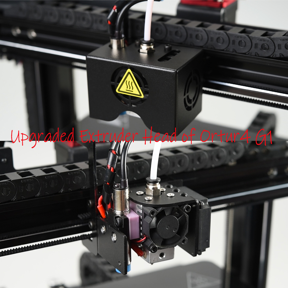 Ortur4 Resume Print Impresora 3d High Speed Imprimante 3d All Metal 3d Printer Anti-Burn/Filament End Sensor/Marlin 2.0 3