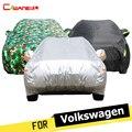 Cawanerl полное покрытие для автомобиля  защита от солнца  защита от УФ снега  дождя  защита от пыли  чехол для Фольксваген  ПАССАТ  Scirocco  Touran Touareg ...