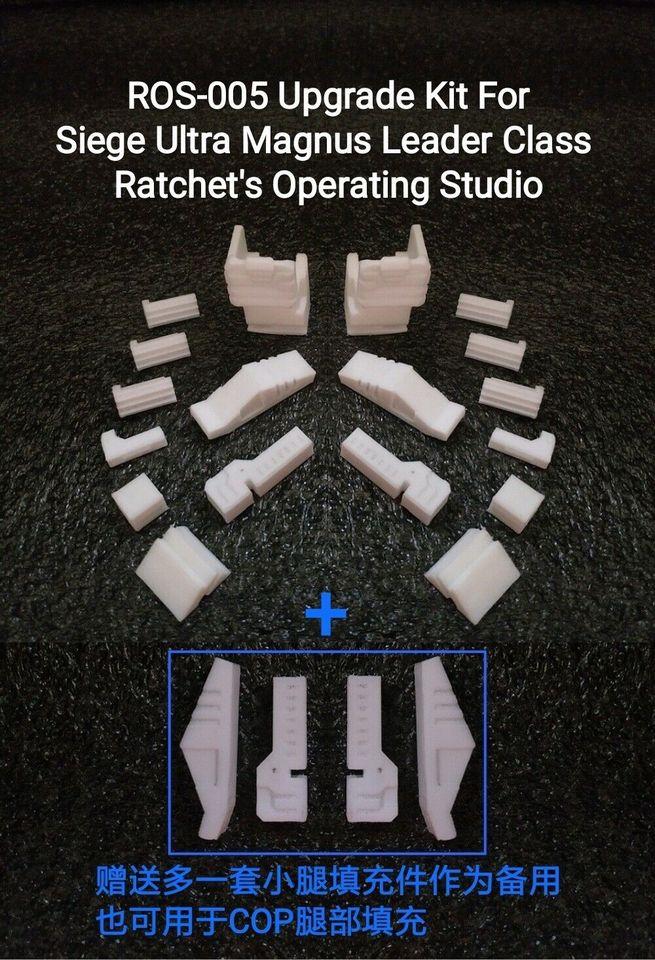 Rachet/'s Operating Studio ROS-005 upgrade kit for Siege Leader Ultra Magnus