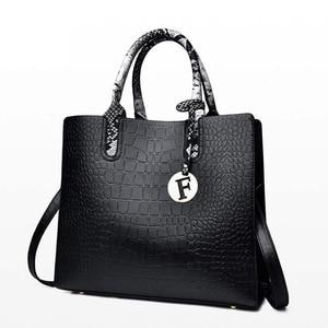 Image 2 - หนัง big sacs หลัก femme สุภาพสตรีกระเป๋าผู้หญิง crossbody สุภาพสตรีกระเป๋าถือ sac femme 2019 nouveau กระเป๋าถือ