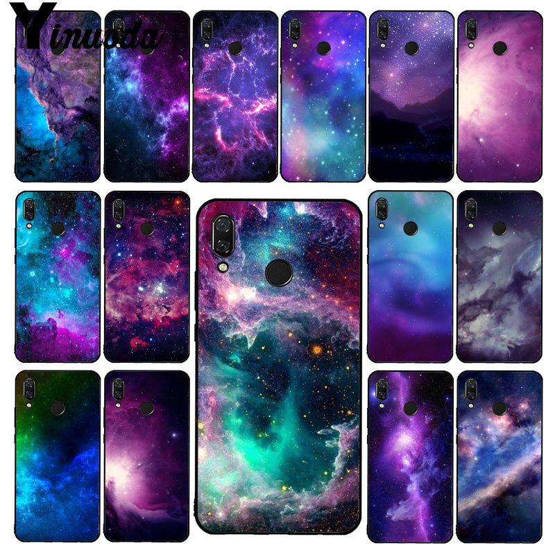 Yinuoda Space For Galaxy Universe Star Dark  Phone Case For Xiaomi Redmi8 4X 6A S2 Go Redmi 5 5Plus Note8 Note5 7 Note8Pro