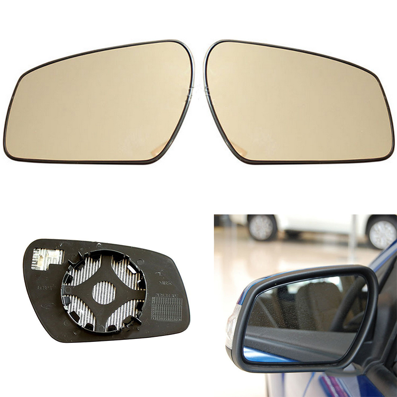 Auto Replacement Left Right Heated Wing Rear Mirror Glass for <font><b>Ford</b></font> <font><b>Focus</b></font> 2005 2006 2007 2008 2009 <font><b>2010</b></font> 2011 2012 2013 image