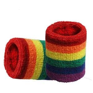 Wrist-Guard Towel Badminton Basketball Sweat-Absorbing Sports Color