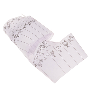 100pcs Washable Iron on Name Colthing Labels School Garment Fabric Tags Marker
