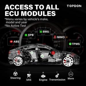 Image 3 - TOPDON ArtiDiag800 BT Car Diagnostic Tool Automotive Scanner Auto Scan Tools Diagnost Tools Bluetooth All System PK MK808BT