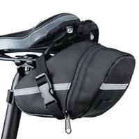 Bicicleta de armazenamento à prova dwaterproof água sela saco assento ciclismo cauda bolsa traseira selim selim saco ao ar livre acessórios|Cestos e bolsas p/ bicicleta| |  -