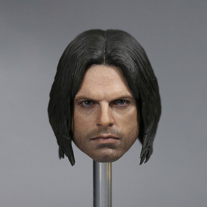 """1:6th The Winter Soldier Mask Model Ninja mask For 12/"""" Female /& Male Body Doll"""