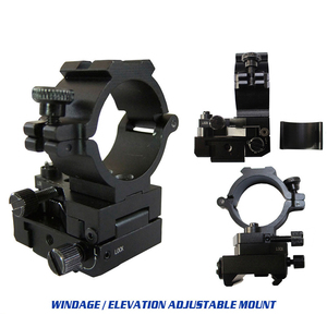 Soporte de riel ajustable de 24,5mm de 1 pulgada para AR15 Ak47 Picatinny Weaver, anillos para caza, accesorios de Riflescope