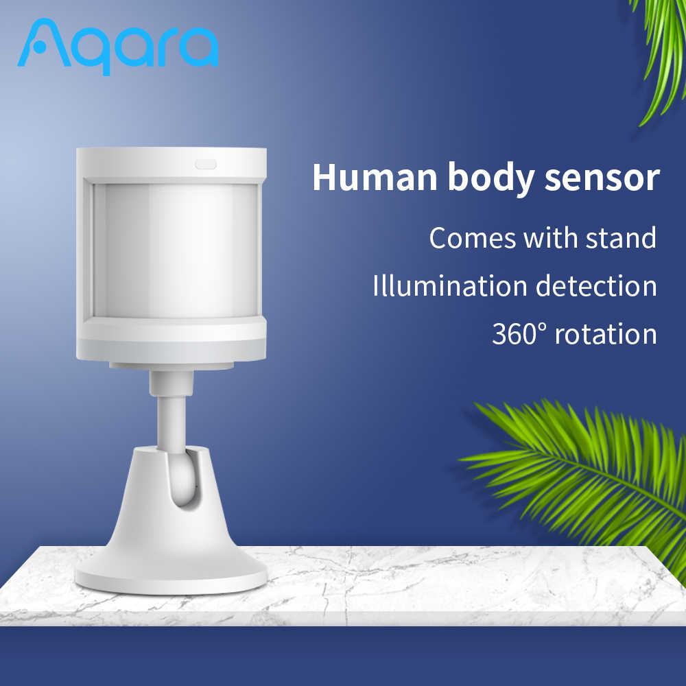 5 adet Aqara sensörü akıllı insan vücudu sensörü ZigBee hareket güvenlik kablosuz sensörü akıllı ev ile çalışmak Homekit/Mi ev