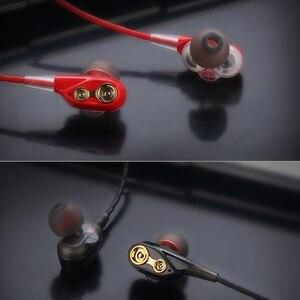 Image 5 - Rovtop Wireless Bluetooth 5.0 Earphone Headphones Double Dynamic Hybrid Stereo Earbuds Sport Neckband Earphone for Phone