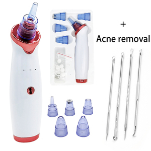 Blackhead Remover Vacuum Cleaner Black Dot Point Noir Facial Cleanser Skin Tool Deep Nose Pore Acne Pimple Black Head extractor