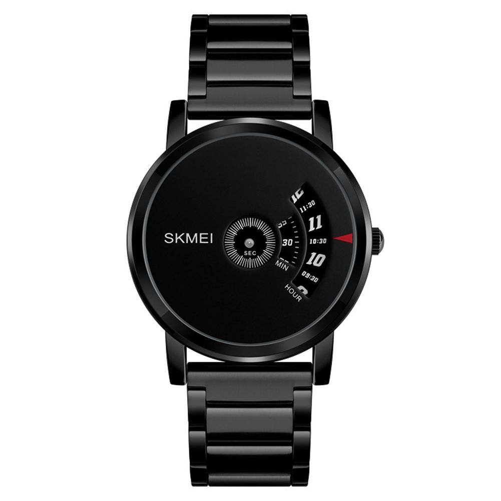 SKMEI 1260 Creative Men 30m Waterproof All-match Round Dial Quartz Business Wrist Watch