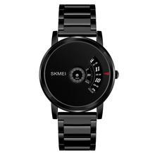цена на SKMEI 1260 Creative Men 30m Waterproof All-match Round Dial Quartz Business Wrist Watch