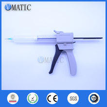 Free Shipping 55 cc 55 ml UV Glue Dispensing Cartridge Syringe Gun With Syringe & Stopper / Cover(China)