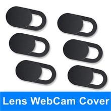Cover Shutter Magnet Slider Antispy Camera Cover For iPad PC Web i Phone Laptop Macbook Tablet lenses Privacy Sticker