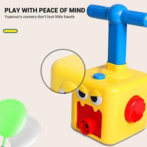 Image 4 - חינוך מדע ניסוי צעצוע אינרציה כוח בלון מכונית צעצוע פאזל כיף כוח האינרציה רכב בלון צעצועים לילדים מתנה
