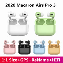 Macaron Air 3 Pro TWS Bluetooth Earphones Wireless Headphones Sport Headset With Microphone PK i9000 i12 tws MAX for ios Android(China)