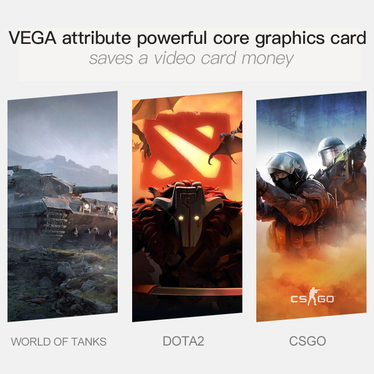 IPASON Computer-Gaming-Card Gaming Pc SSD Desktop 1050ti-Upgrade/rx560 Cheap 8G AMD 860k-Ram