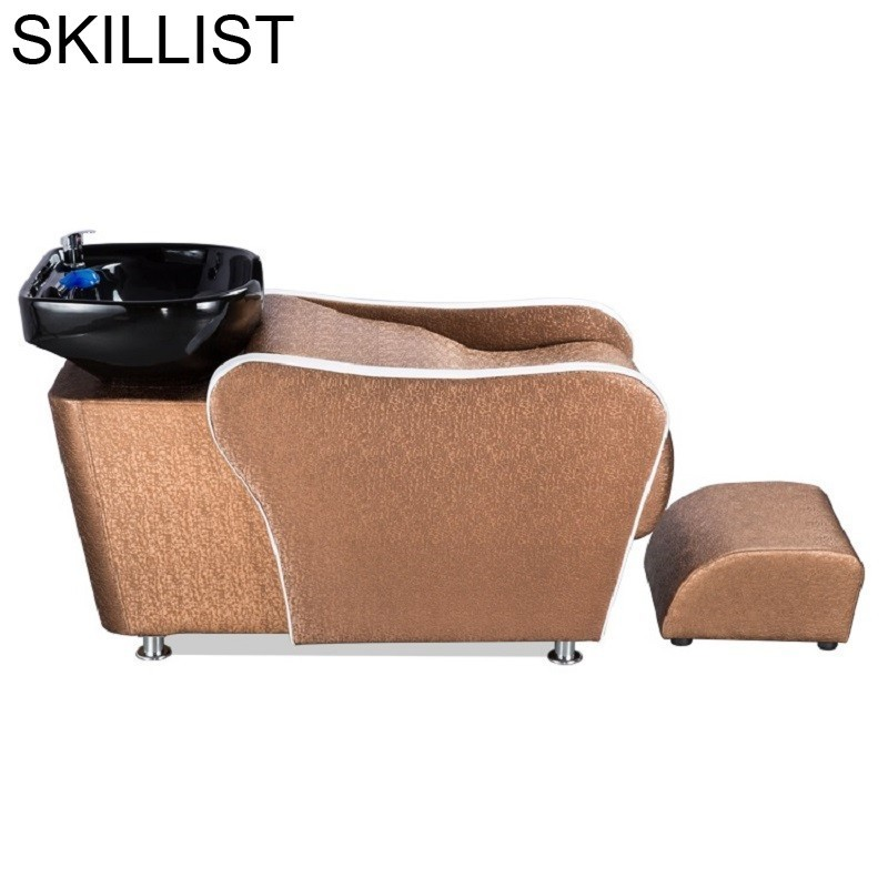 Makeup Cadeira Cabeleireiro Beauty Bed Lavacabezas Hairdresser De Belleza Hair Furniture Silla Peluqueria Salon Shampoo Chair