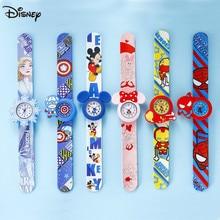 Оригинал Disney Frozen Watch Aisha Princess Image Avengers Captain Mickey Children% 27s Watch Minnie Shooting Watch
