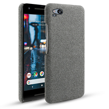 For Google Pixel 3 XL 4 Case Slim Woven Fabric Protective Back PC Hard Cloth Cover 2 3A