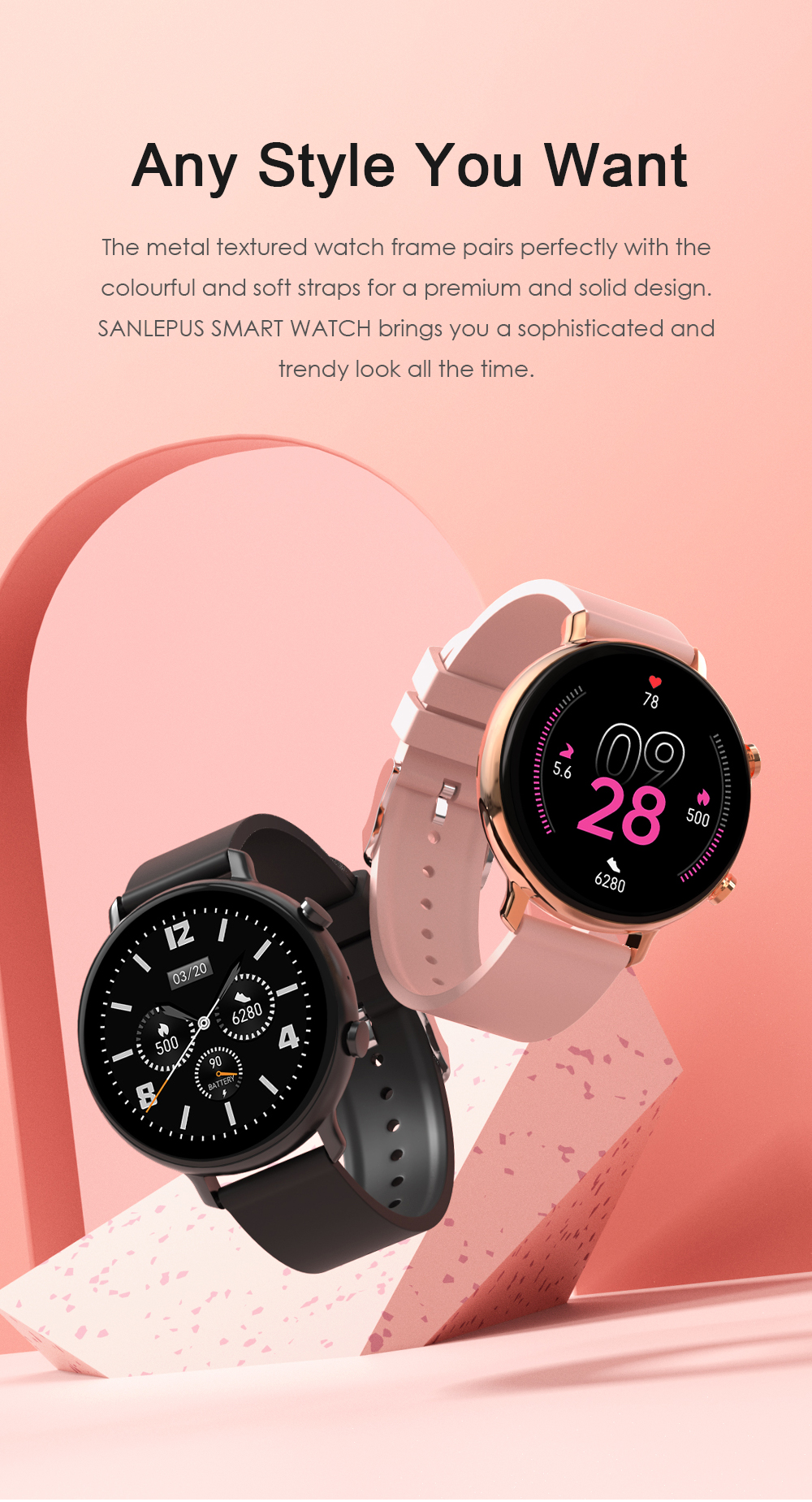 He02967a6086c44118c93fac48cf06f36M SANLEPUS ECG PPG Smart Watch With Dial Calls 2021 New Men Women Smartwatch Blood Pressure Monitor For Android Samsung Apple