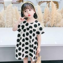 цена на Kids Newborn Baby Girls Dresses Girl Clothes Dot Princess Party Summer Tutu Dress Sundress Clothing Princess Dress Toddler