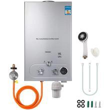 Пропан водонагреватель 18л 4.8GPM 36 кВт мгновенный сжиженный нефтяной газ водонагреватель из нержавеющей стали котел комплект