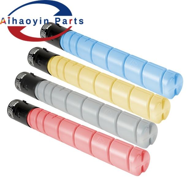 1 kit de Toner laser compatible 4 * cartouche de Toner TN324 pour Konica Minolta Bizhub C368 C308 C258,A8DA130 A8DA430 A8DA330 kcmy
