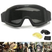Тактические Военные очки для страйкбола стрельбы gx1000 черные