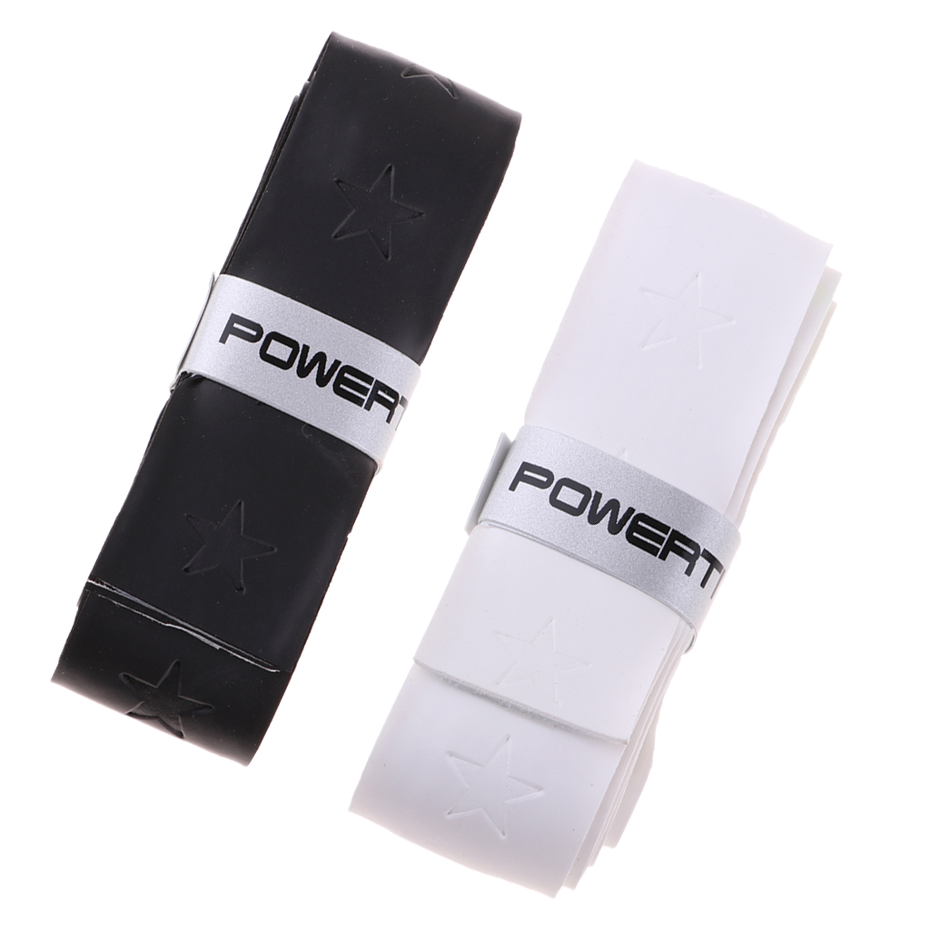 2Pcs Racket Overgrips Tapes Warps Bands For Tennis Badminton Table Tennis