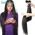 Бразильские пряди волос ROSAMOUR, пряди для наращивания, натуральные цвета, прямые человеческие волосы, пряди из необработанных волос 28, 30, 32, 40 д...