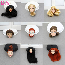 Original Limited One Pcs Doll Head Accessories Collection Fashion Hair American head Doll Gift DIY Toys for Children nk one pcs fashion doll head hair diy accessories for barbie kurhn doll best girl gift child diy toys