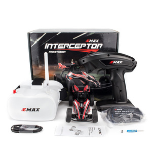 Image 3 - Emax Interceptor FPV Racing Car 2.4G Radio Control High speed With Camera Goggle Glasses RC Car 2~3S RTG Version for Gift