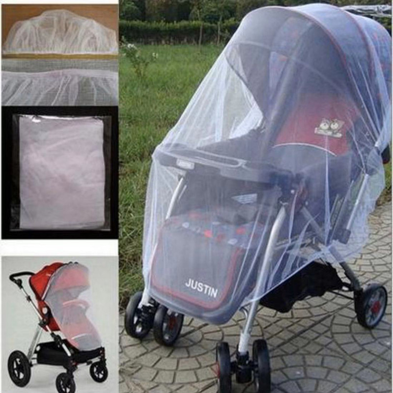 Summer Safe Baby Kids Stroller Mosquito Net Pram Protector Carriage