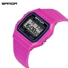 Children Watch Shockproof Waterproof Digital Sports Electronic Kids Wristwatch Boy Girl Alarm Clock Gift Relogio Infantil Sanda