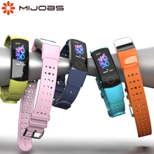 Wristbands Silicone Bracelet 5-Strap Sports-Accessories Huawei for Anti-Lost TPU