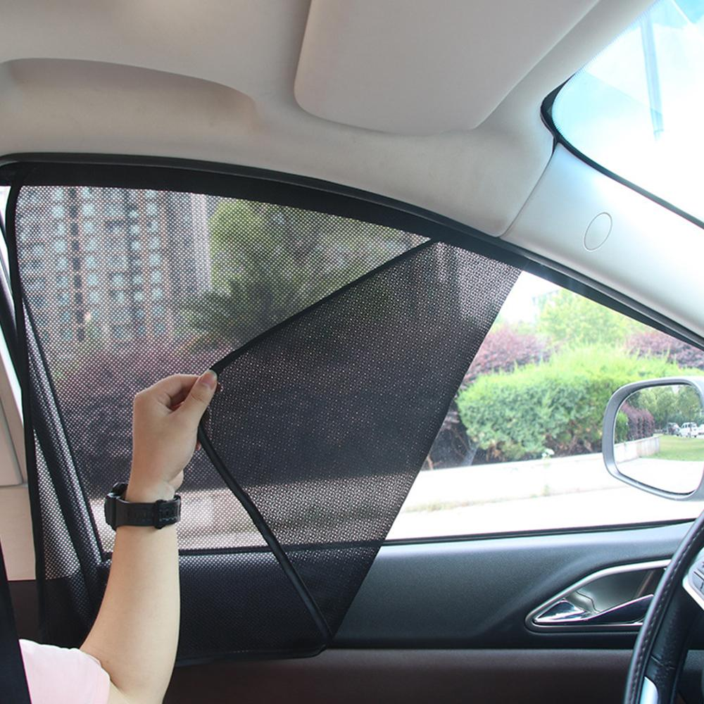 Car Window Sun Shade UV Protection-Sun Glare And UV Rays Protector Windshield Sunshades Insulation Cover General Curtain
