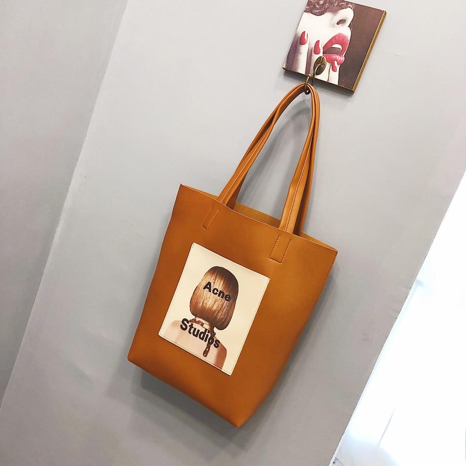grande bolsa de ombro feminina designer vintage