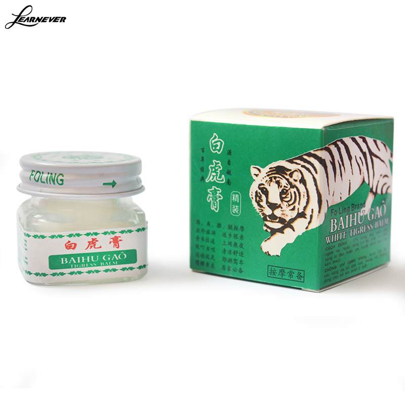 White Tiger Balm For Headaches Toothache Abdominal Pain Baume Mask Tiger Blanc Cold Dizziness Essential Balm