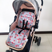 Baby Stroller Pad Mat Child Cart Seat Cushion Stroller Accessories Infant Trolley Soft Mat Breathable Pram Pad Baby Changing Mat newborn baby changing pad urinal pad infant child bed waterproof cotton cloth diaper inserts changing mat for crib stroller pad