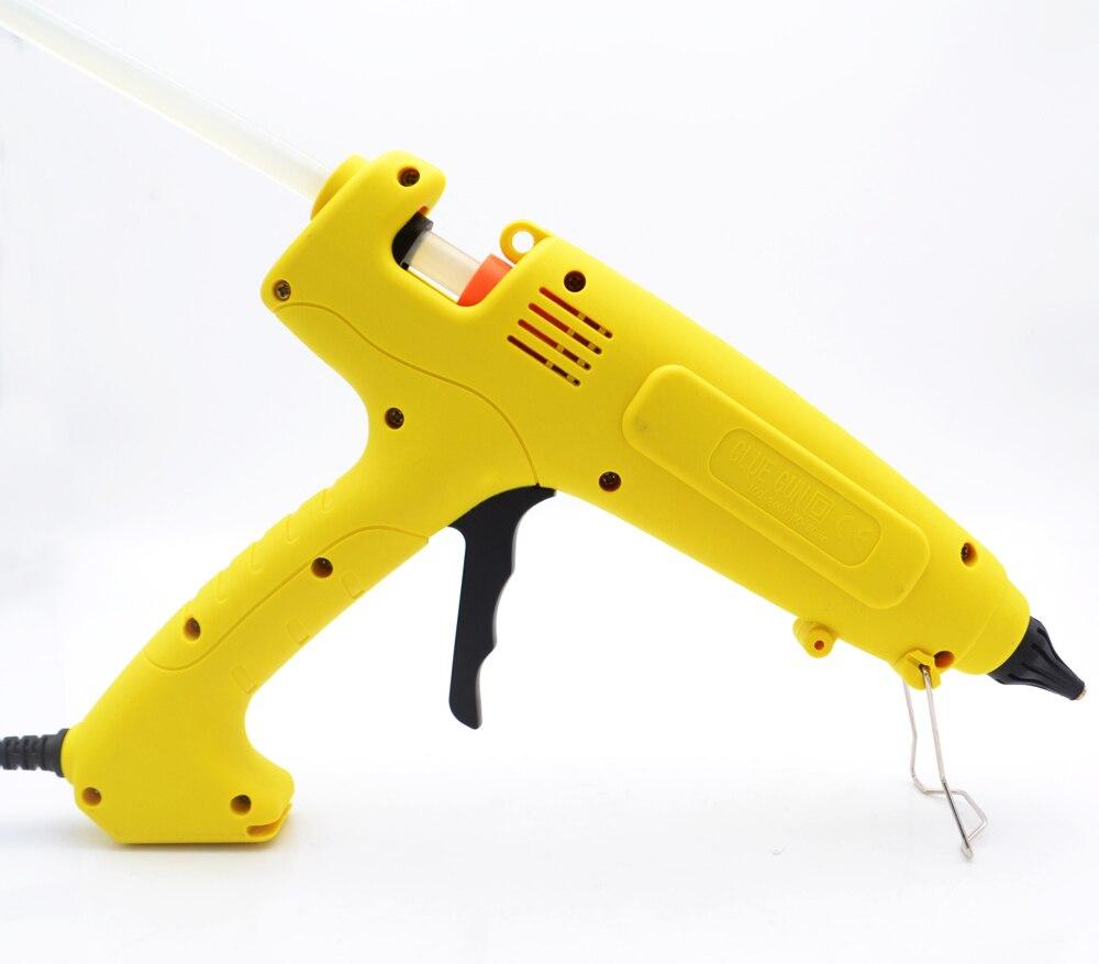Tools : 110V-220V 300W EU Plug Hot Melt Glue Gun  Smart Temperature Control Copper Nozzle Heater Heating Wax 11mm Glue Stick