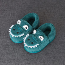 Children shoes Toddler Boys Girls Fluffy Little Kids Shoes Warmer Cute Animal Home Slippers winter kids Sapato Infantil Cotton(China)