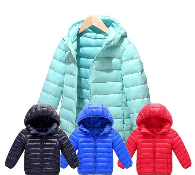 Boys Girls Cotton Winter Fashion Sport Jacket