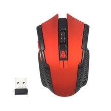 Mosunx 2,4 ГГц мини Портативная Беспроводная оптическая игровая мышь для ПК ноутбука 8,15