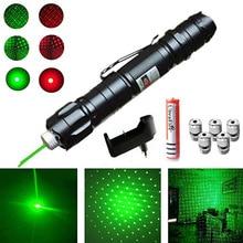 High Power Laser Sight Pointer 5MW 532nm Green Red Dot Laser Light Pen Powerful Laser Device