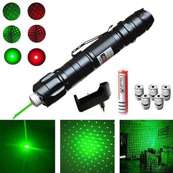 High Power Laser Sight Pointer 5MW 532nm Green Red Dot Laser Light Pen Powerful Laser  Device Laser Pen